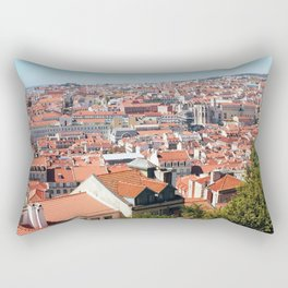 Lisbon, Portugal Analog 6x6 Kodak Ektar 100 (RR 162) Rectangular Pillow