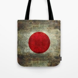 The national flag of Japan Tote Bag