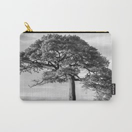 The Tree (Black and White) Carry-All Pouch