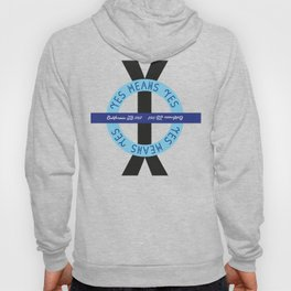YES YES Means – ROUND Hoody