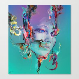 Deep Reality of Here Canvas Print