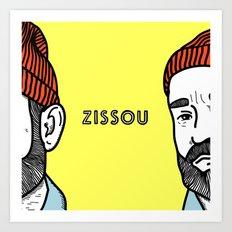 Zissou #2 Art Print