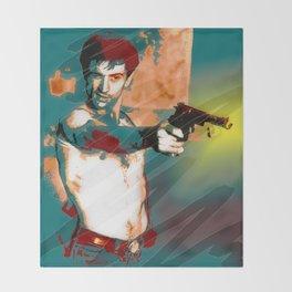 Hollywood Icons - Mr DeNiro Throw Blanket