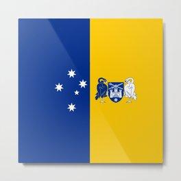 flag of canberra Metal Print