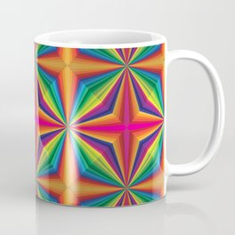 Psychedelic Squares Coffee Mug
