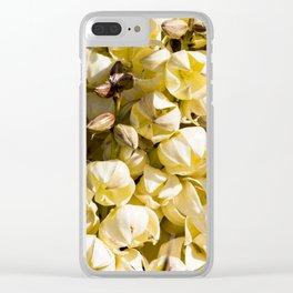Super Bloom 7453 Paradise Joshua Tree Clear iPhone Case