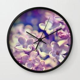 Spring 301 lilac Wall Clock
