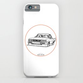 Crazy Car Art 0209 iPhone Case