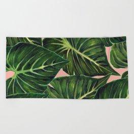 Tropical II Coral Beach Towel