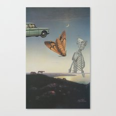 And I Feel Like Everything's Surreal Canvas Print