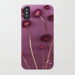 Purple Chia iPhone Case
