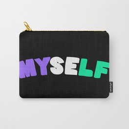 Myself (Genderqueer) Carry-All Pouch