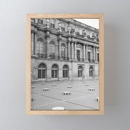 Palais Royal V Framed Mini Art Print