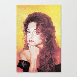 Gloria Estefan Canvas Print