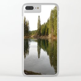 Williamson River Clear iPhone Case