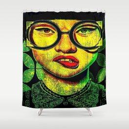Gafas Shower Curtain