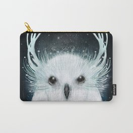 the white owl Carry-All Pouch