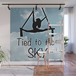 """Aeiralist """"Tied to the Sky"""" Graphic Wall Mural"""