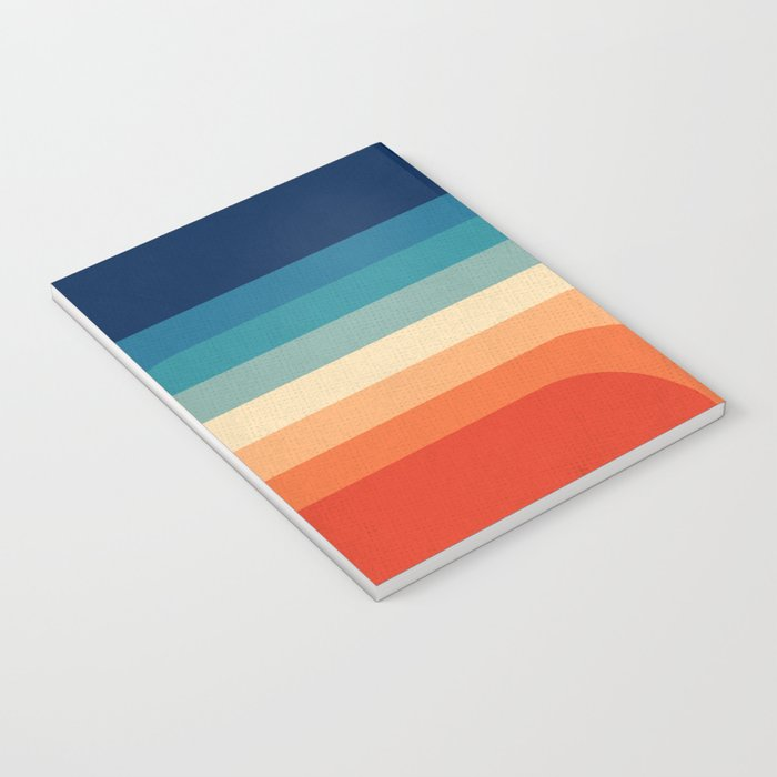 Retro 70s Color Palette III Notebook