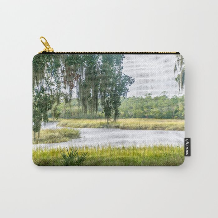 By the Bayou Carry-All Pouch