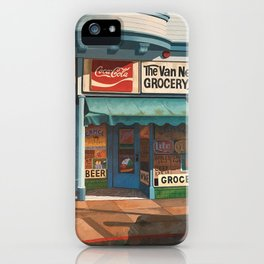 The Van Ness South Grocery 17 & SVN San Francisco 1994 iPhone Case