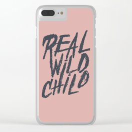 Real Wild Child Clear iPhone Case