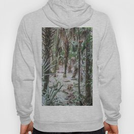 Palm Trees in the Green Swamp Hoody