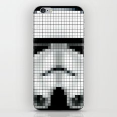 Stormtrooper : 8 Bit Pixel iPhone & iPod Skin