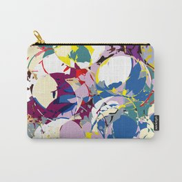 circle color fractures Carry-All Pouch