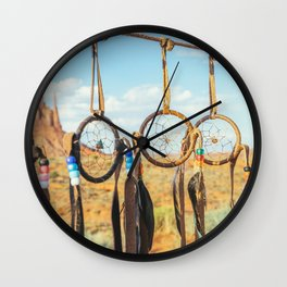 Jew's harp. Monument Valley Wall Clock