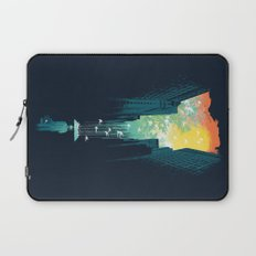 I Want My Blue Sky Laptop Sleeve