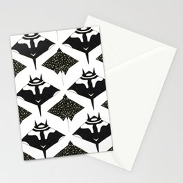 mantas and spotted eagle rays Stationery Cards