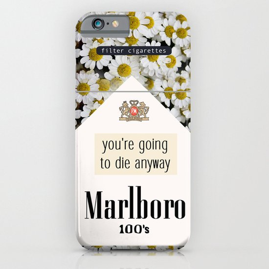 going to die anyway. iPhone & iPod Case