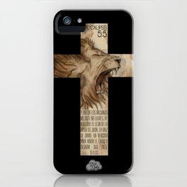 Leon de Juda iPhone Case