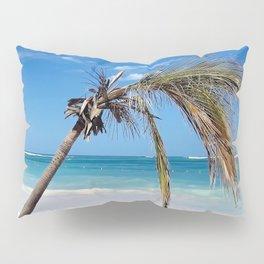 Landscape | Palm and Beach | Life's a Beach! | Nadia Bonello Pillow Sham