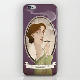 Virginia Woolf  said... iPhone Skin