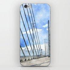 Öresund bridge iPhone & iPod Skin