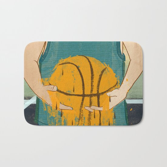 Losing my love for basketball Bath Mat