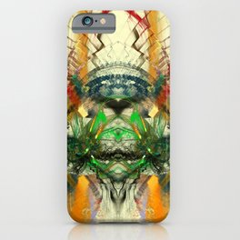 Chaos Waves iPhone Case