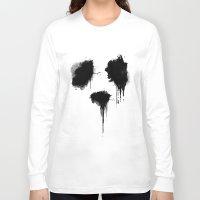 panda Long Sleeve T-shirts featuring PANDA by Sara Eshak