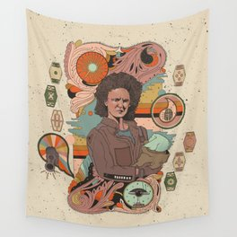 """""""The Mechanic"""" by Cassidy Rae Marietta Wall Tapestry"""