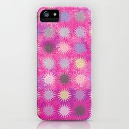 Colorful Sun Pattern II iPhone Case