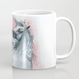 Fightng horses Coffee Mug
