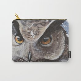 """The Owl - """"Watch-me!"""" - Animal - by LiliFlore Carry-All Pouch"""