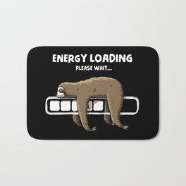 Energy loading Bath Mat