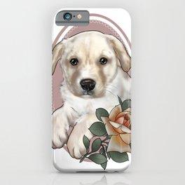 Lola puppy iPhone Case