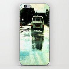 on a Dutch rainy day iPhone & iPod Skin