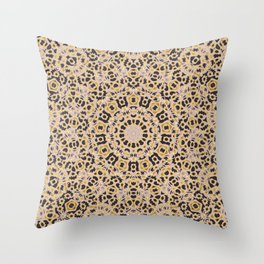Holy Mandala Throw Pillow