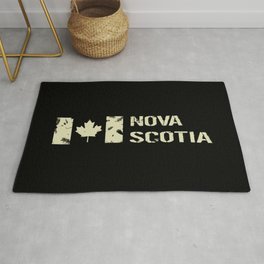 Canadian Flag: Nova Scotia Rug