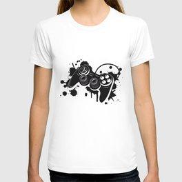 Gamepad Graffiti Grunge T-shirt